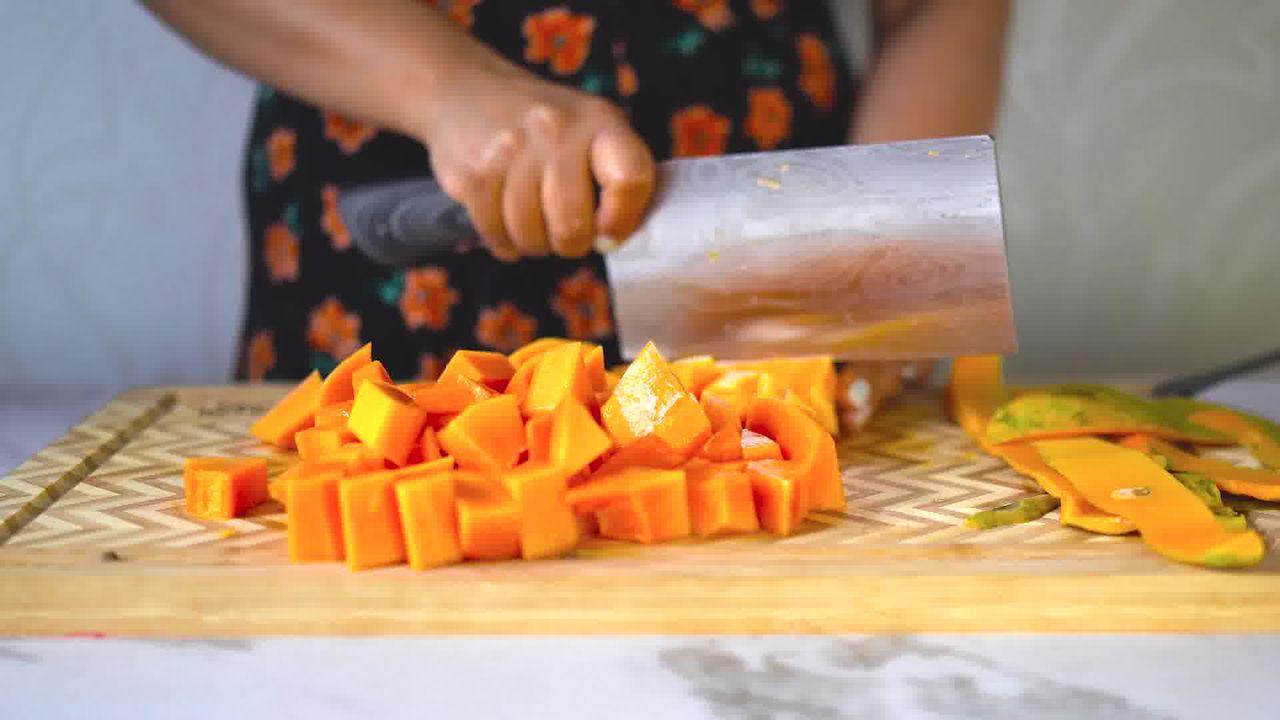 Image of the cooking step-1-2 for Papaya Shake - Papaya Smoothie