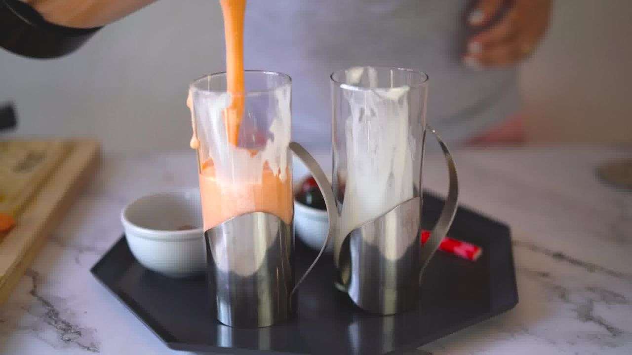 Image of the cooking step-1-7 for Papaya Shake - Papaya Smoothie