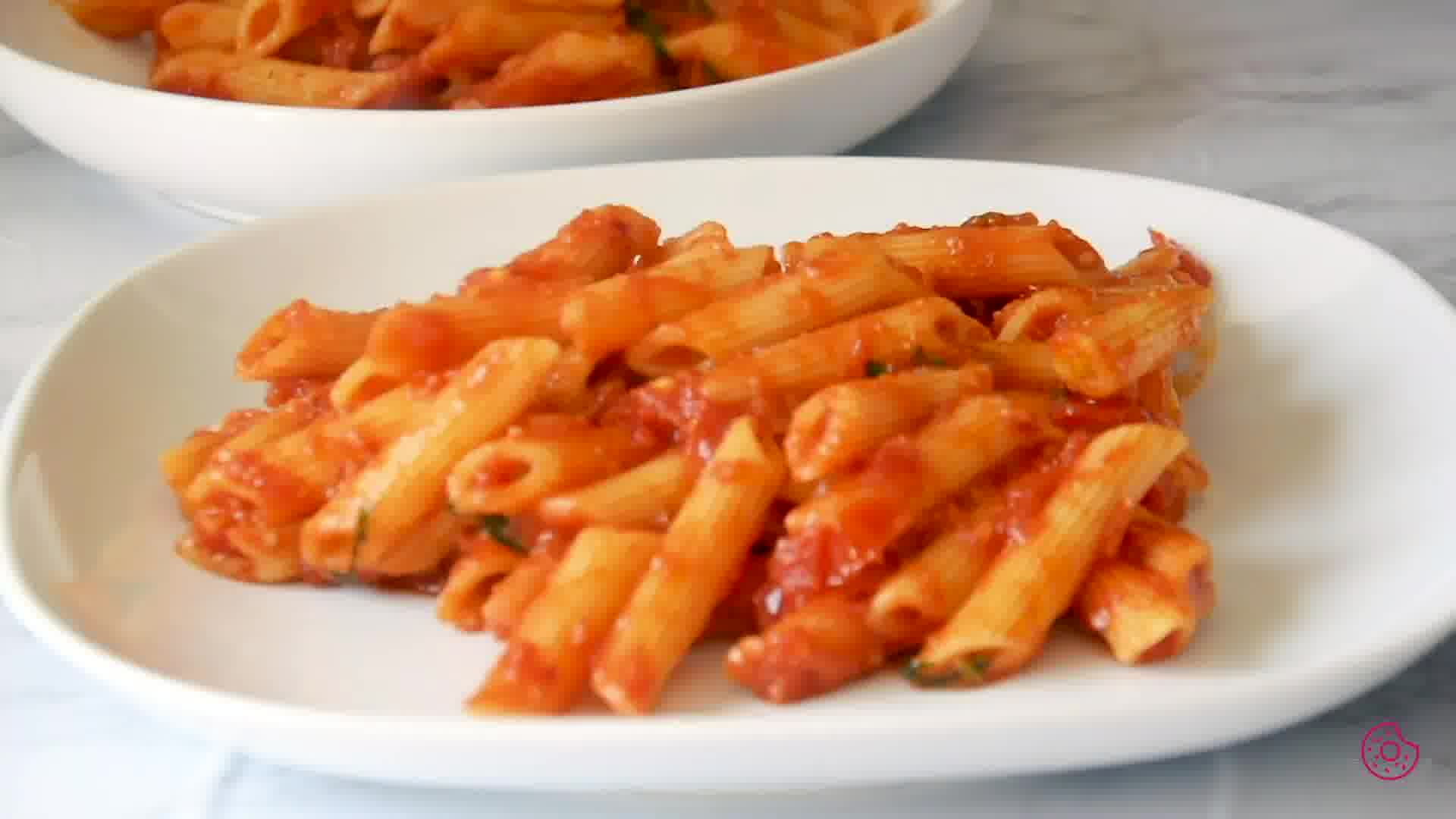Image of the cooking step-1-11 for Penne Arrabbiata - Pasta Arrabiata