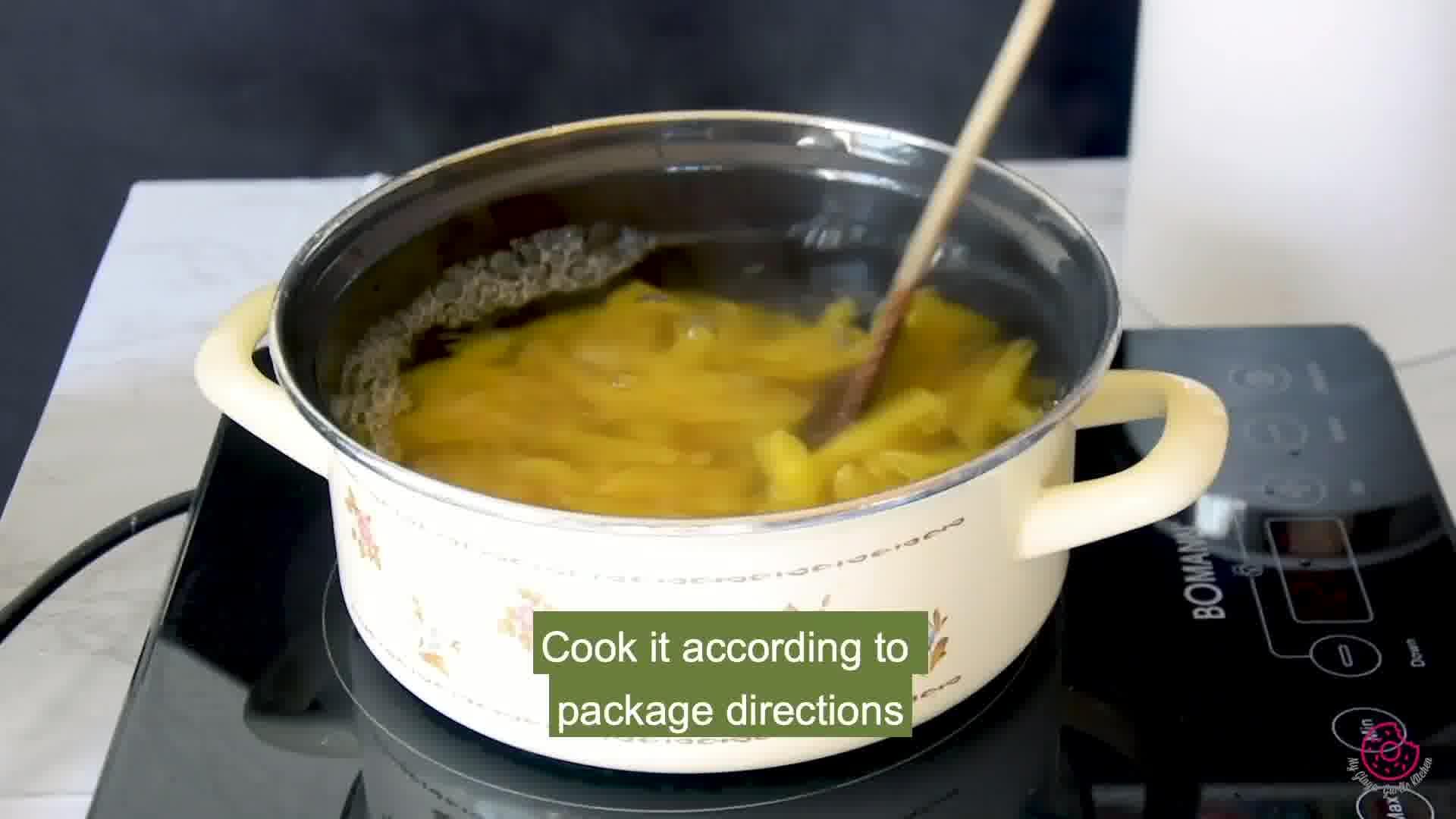 Image of the cooking step-1-2 for Penne Arrabbiata - Pasta Arrabiata