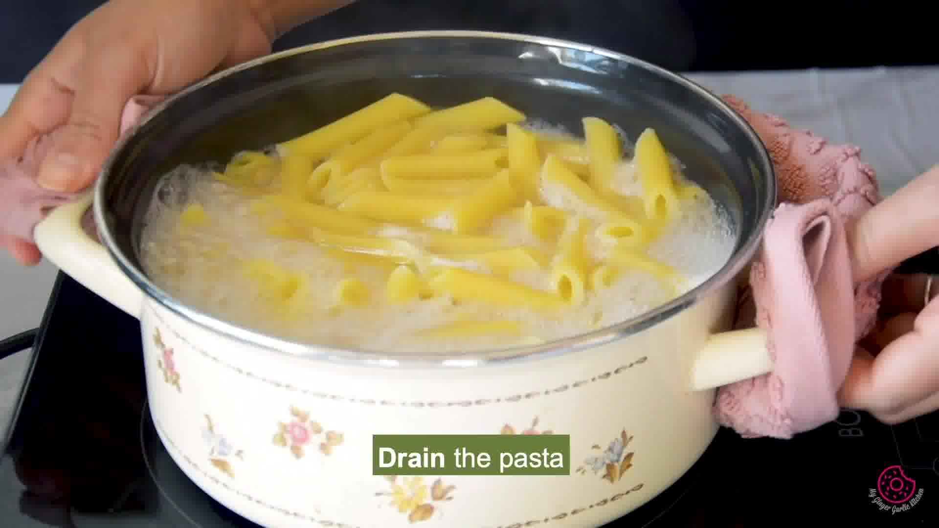 Image of the cooking step-1-3 for Penne Arrabbiata - Pasta Arrabiata