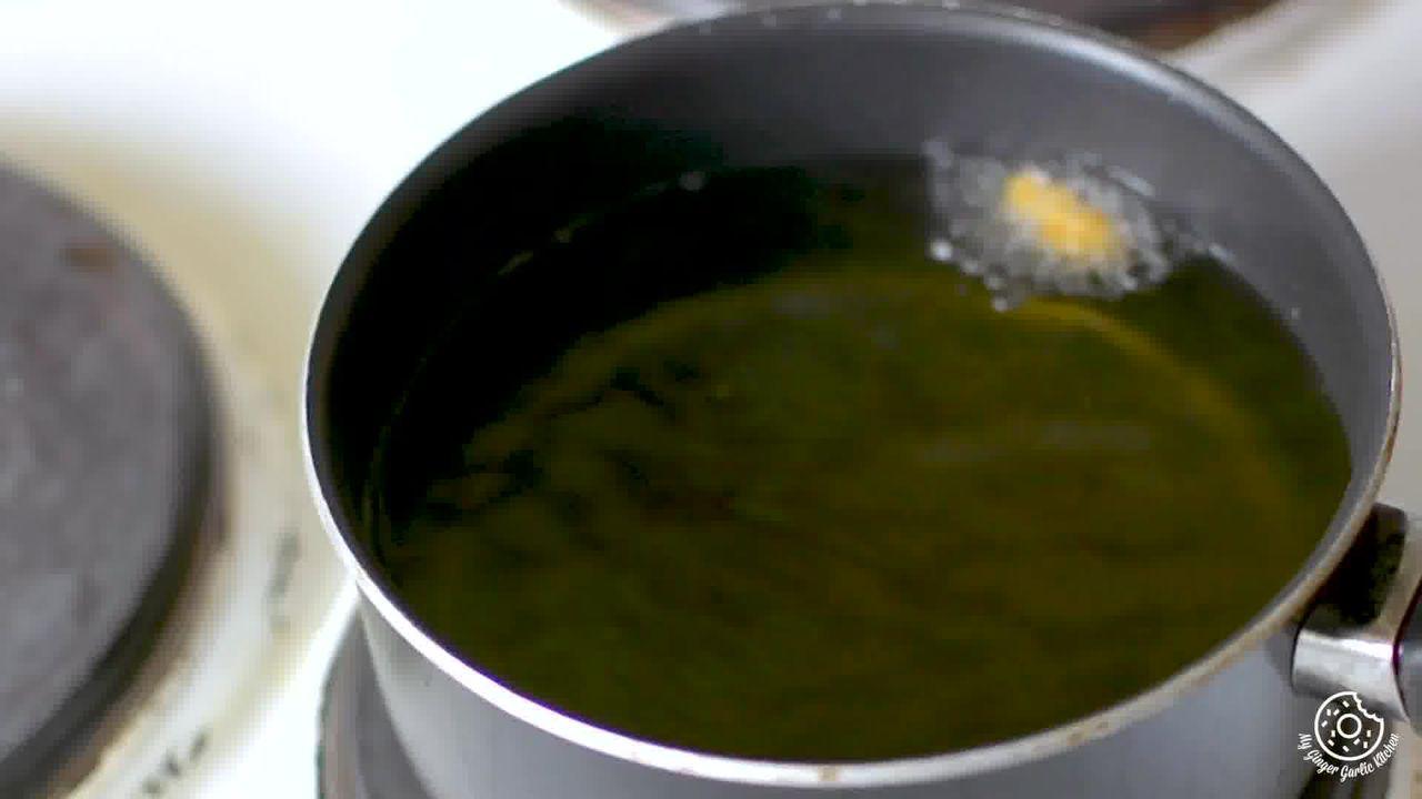 Image of the cooking step-2-1 for Paush Vada Recipe - Paush Bade (Dal Wada)