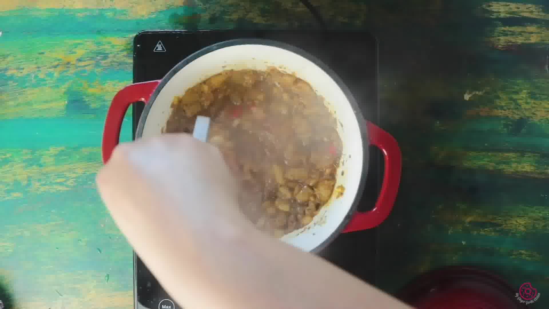 Image of the cooking step-2-13 for Peach Chutney