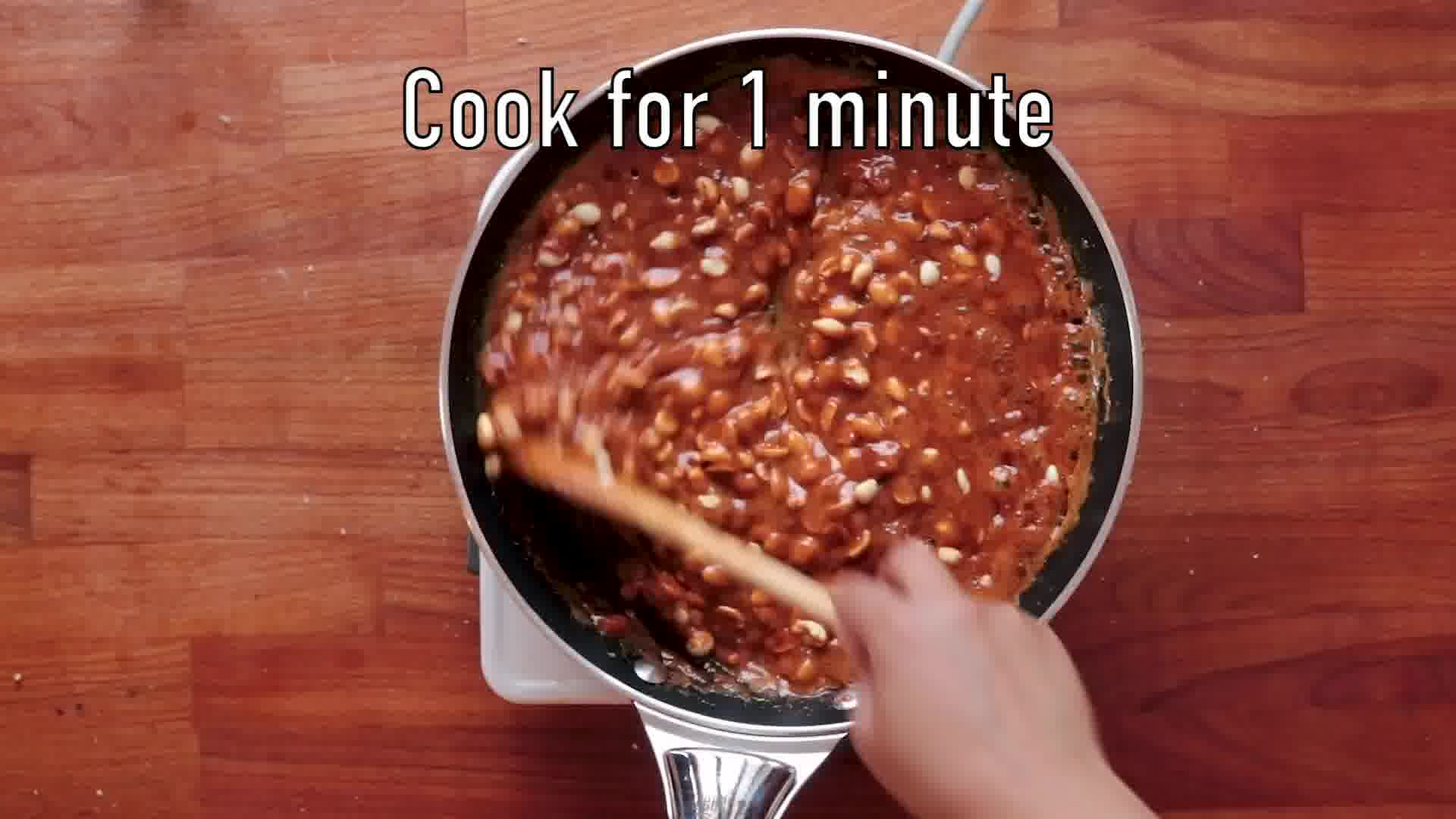 Image of the cooking step-3-3 for Peanut Chikki – Peanut Brittle