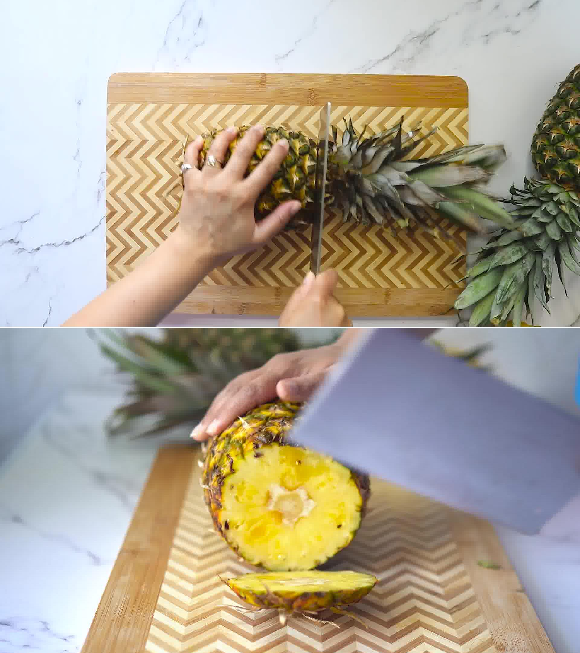 Image of the cooking step-1-1 for Homemade Pineapple Juice Recipe and It's Benefits