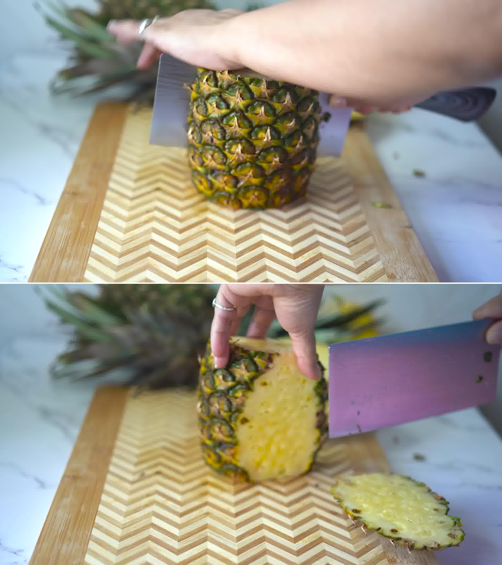 Image of the cooking step-1-2 for Homemade Pineapple Juice Recipe and It's Benefits
