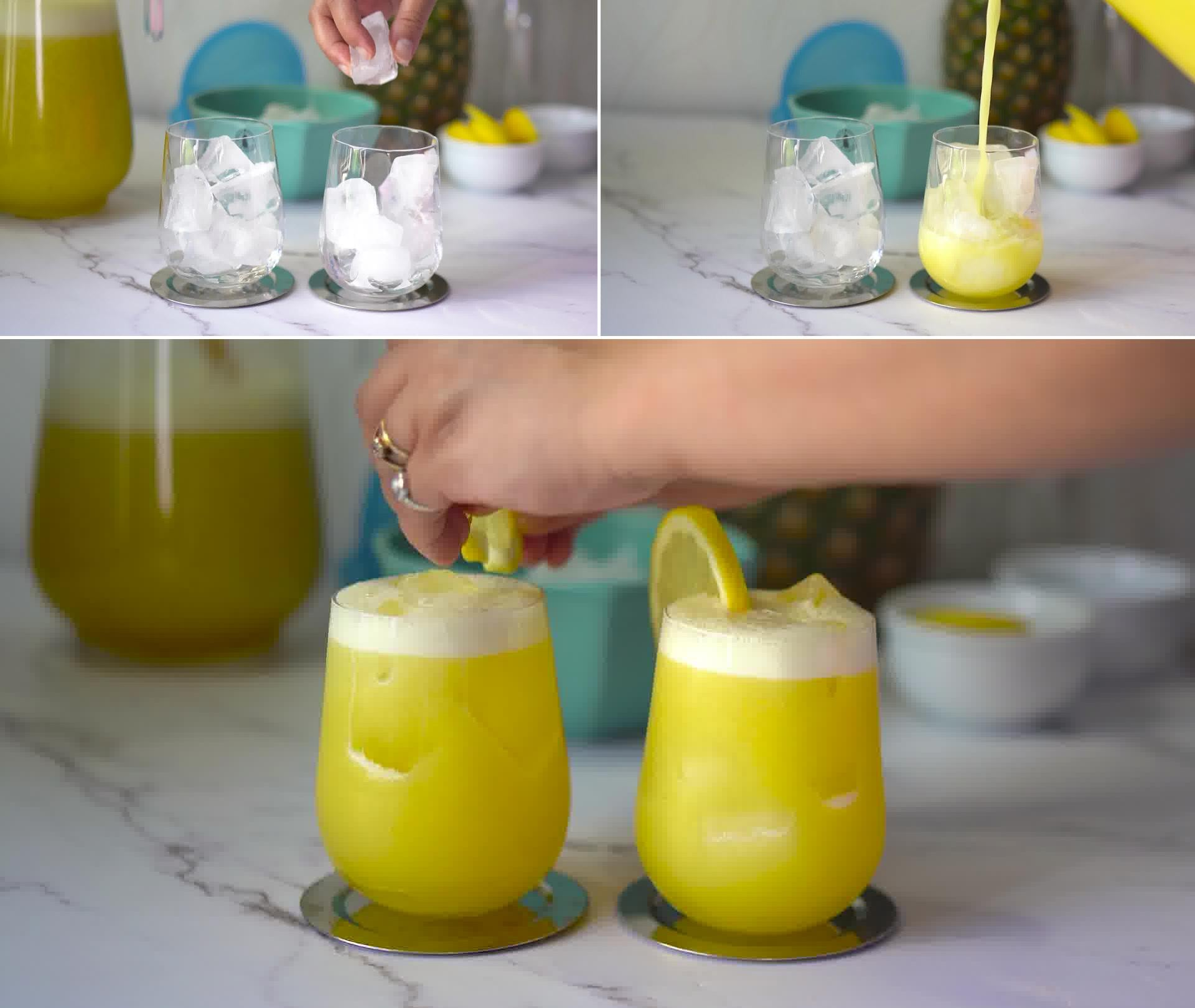 Image of the cooking step-1-8 for Homemade Pineapple Juice Recipe and It's Benefits