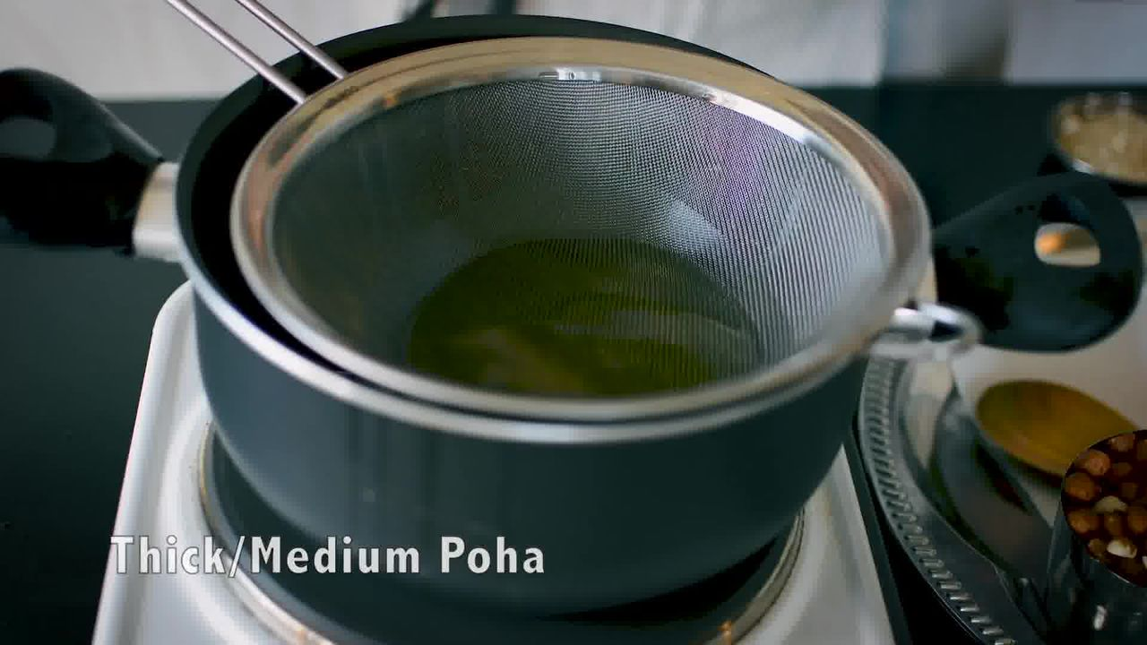 Image of the cooking step-1-1 for Chivda Recipe - Poha Chivda
