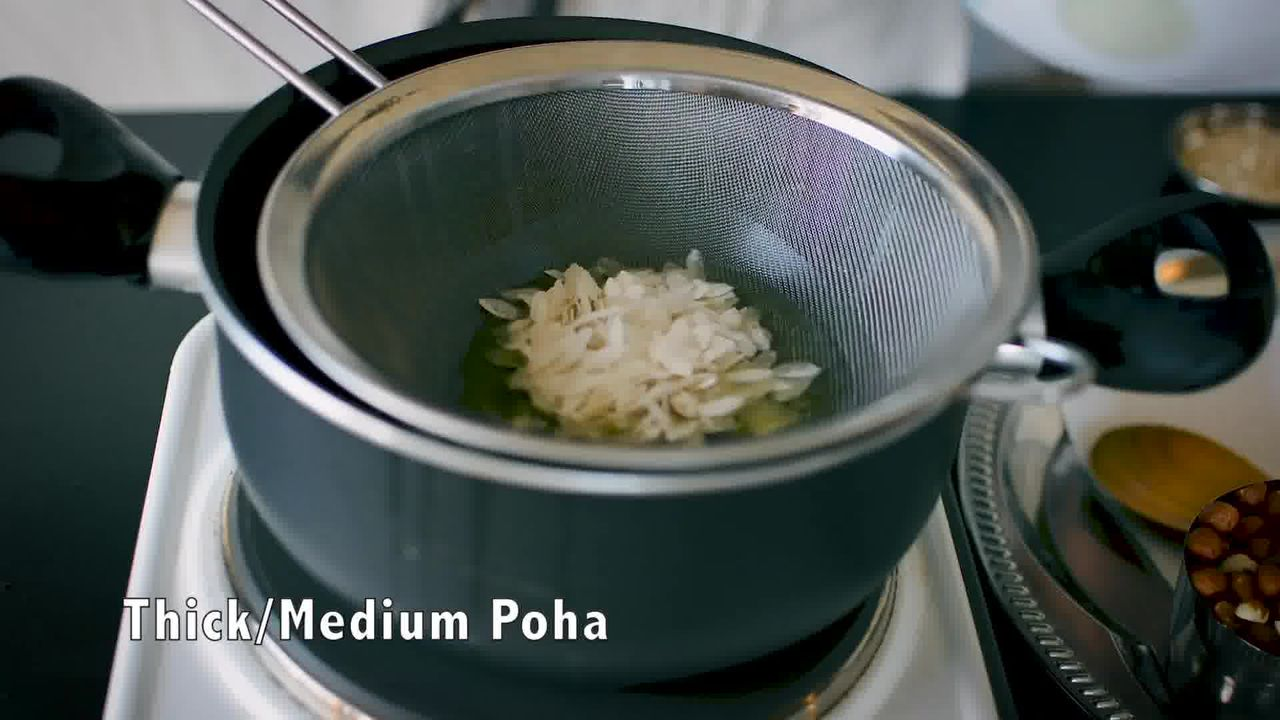 Image of the cooking step-1-2 for Chivda Recipe - Poha Chivda