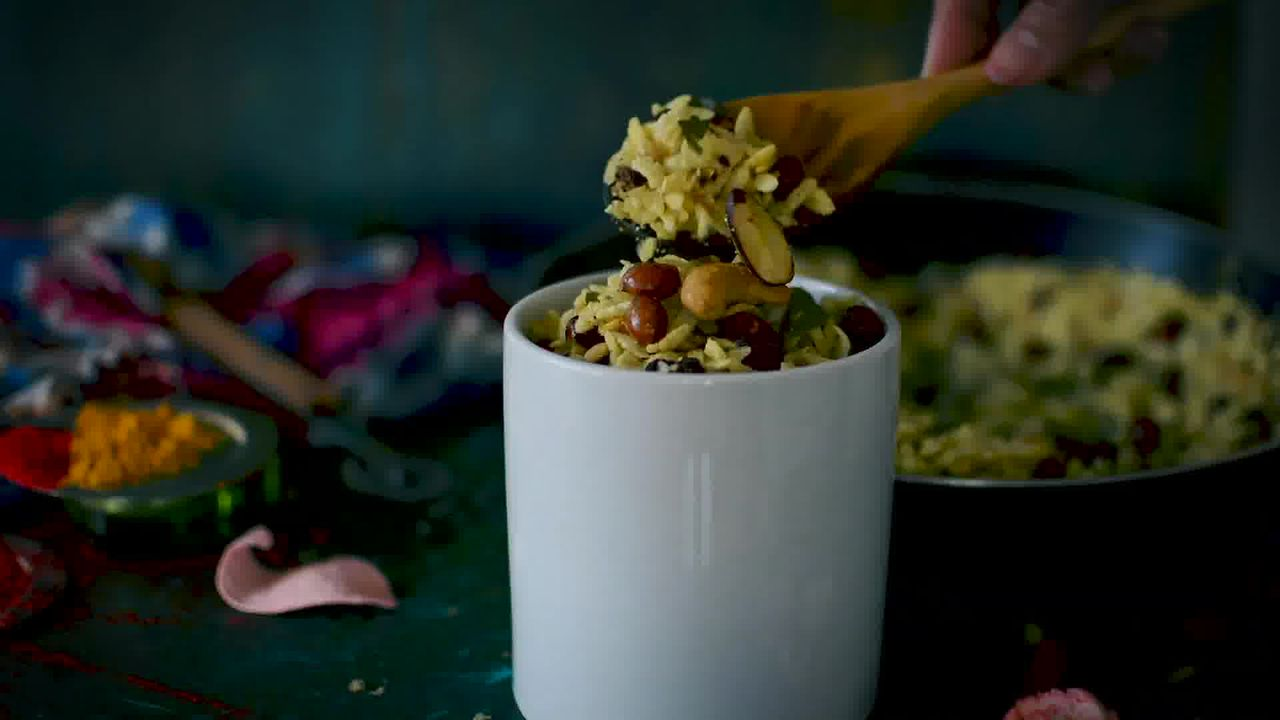 Image of the cooking step-4-3 for Chivda Recipe - Poha Chivda