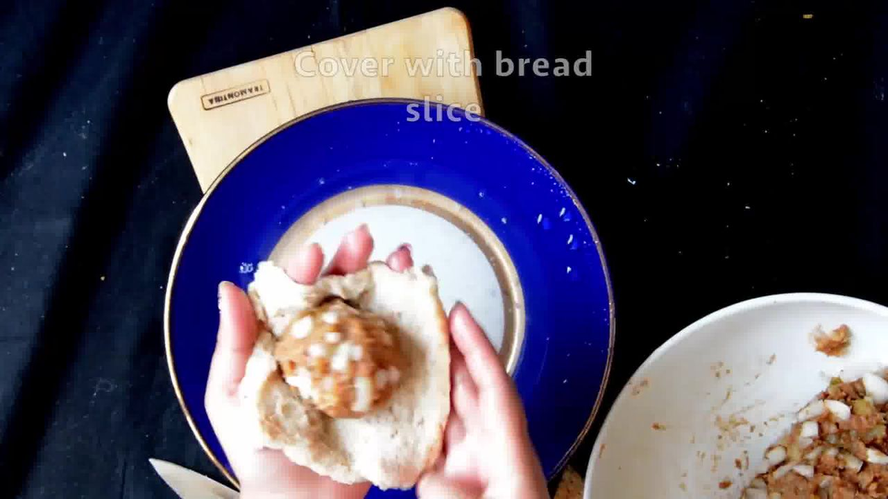 Image of the cooking step-2-3 for Bread Roll (Video)