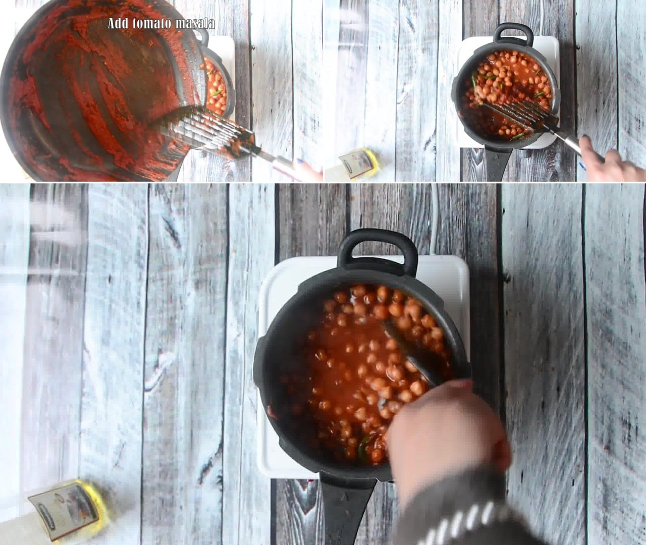 Image of the cooking step-1-7 for How To Make Punjabi Chole Bhature - Chana Bhatura Recipe
