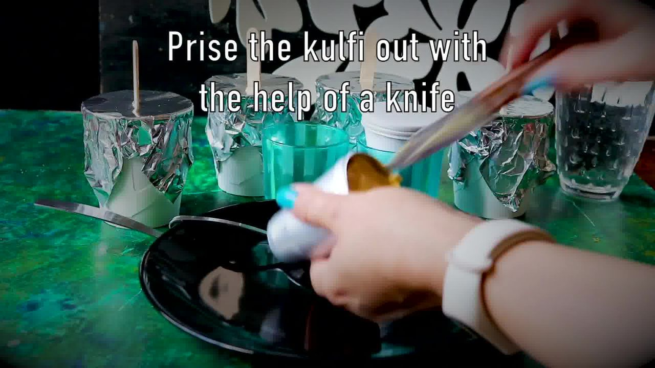 Image of the cooking step-3-4 for How To Make Quick Mango Kulfi - No Cook Mango Kulfi Recipe