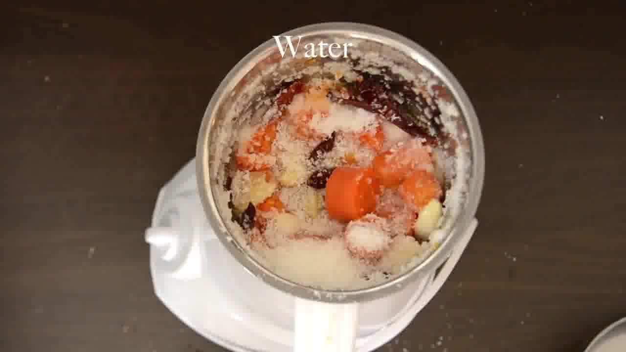 Image of the cooking step-1-3 for Radish Lentil Idli Fry + Carrot Ginger Chutney
