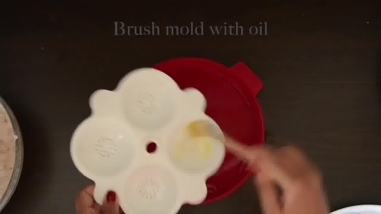 Image of the cooking step-2-8 for Radish Lentil Idli Fry + Carrot Ginger Chutney
