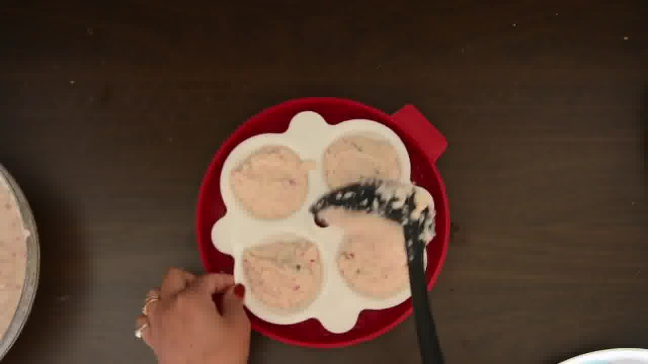 Image of the cooking step-2-9 for Radish Lentil Idli Fry + Carrot Ginger Chutney