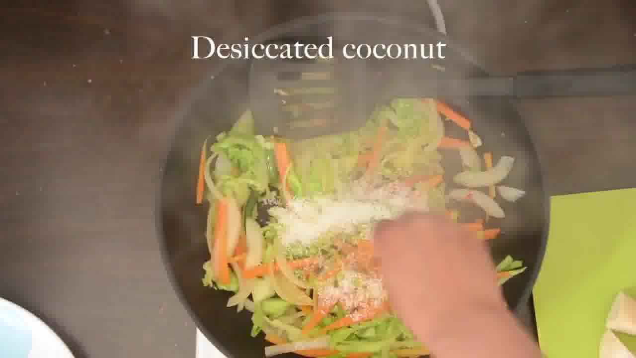 Image of the cooking step-3-5 for Radish Lentil Idli Fry + Carrot Ginger Chutney