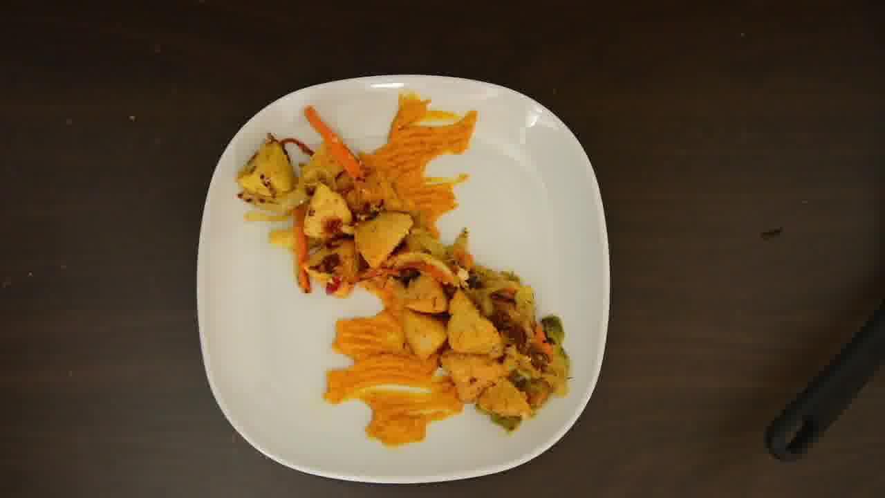 Image of the cooking step-4-2 for Radish Lentil Idli Fry + Carrot Ginger Chutney