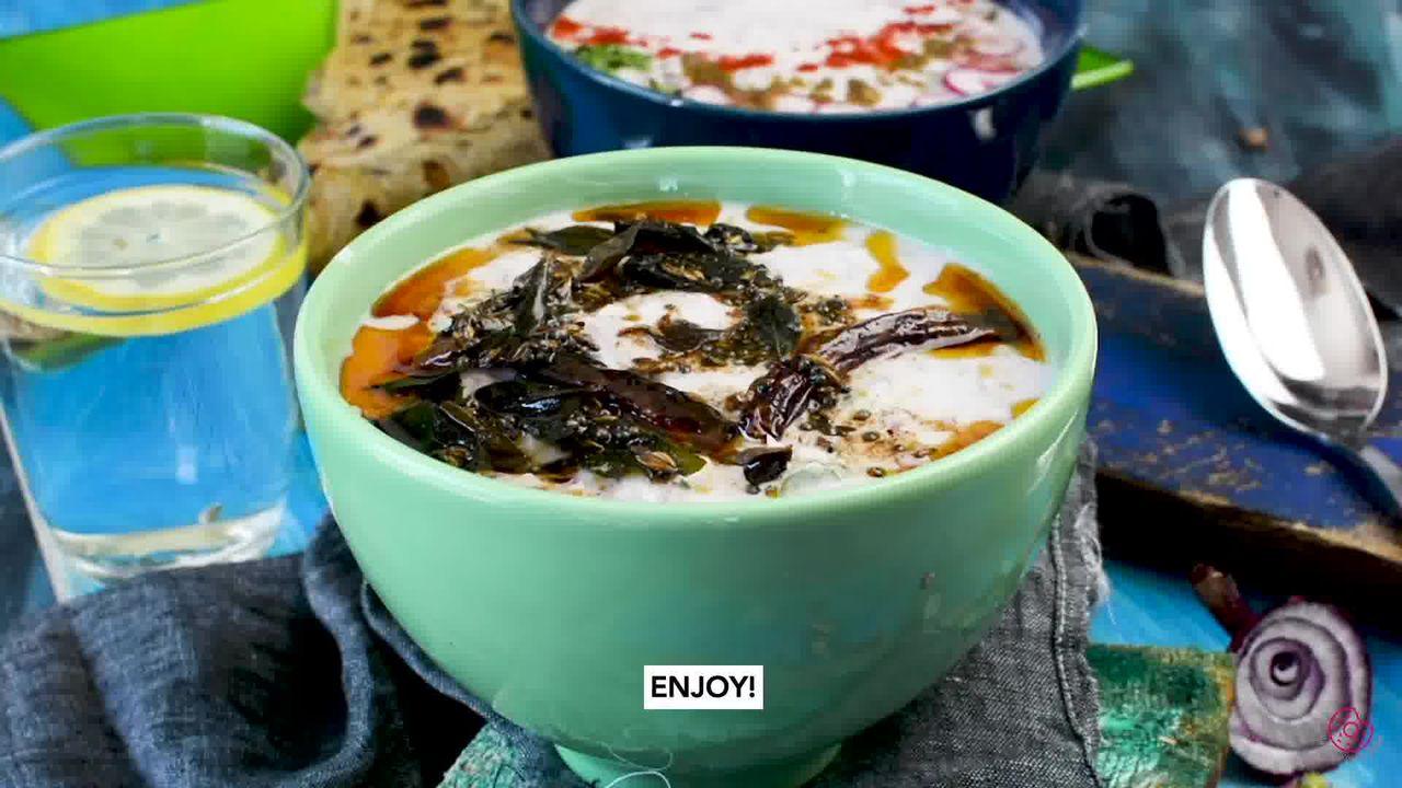 Image of the cooking step-4-2 for Radish Raita - Mooli Raita