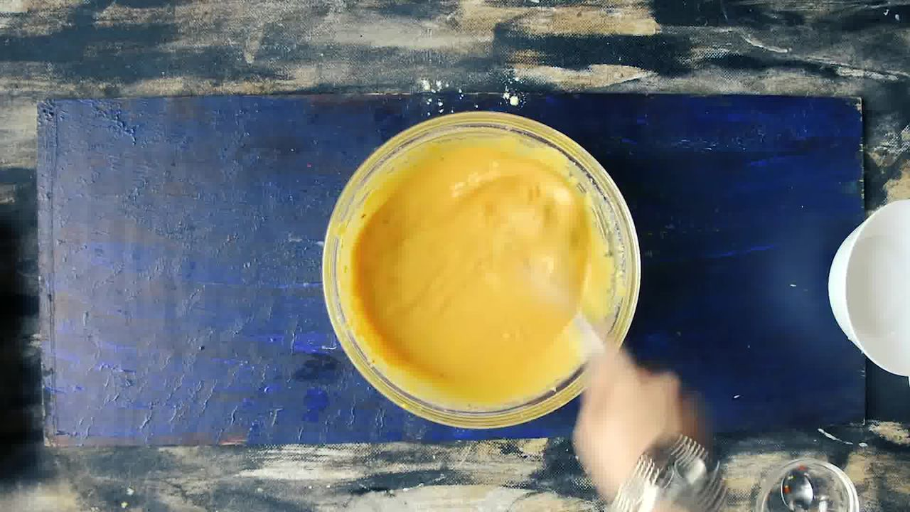 Image of the cooking step-1-2 for Besan Ke Cheele Ka Raita - Chickpea Pancake Yogurt
