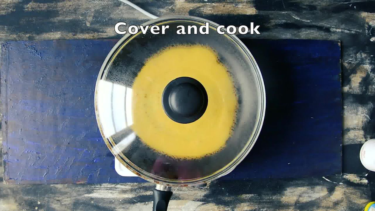 Image of the cooking step-2-4 for Besan Ke Cheele Ki Sabzi - Chickpea Pancake Curry
