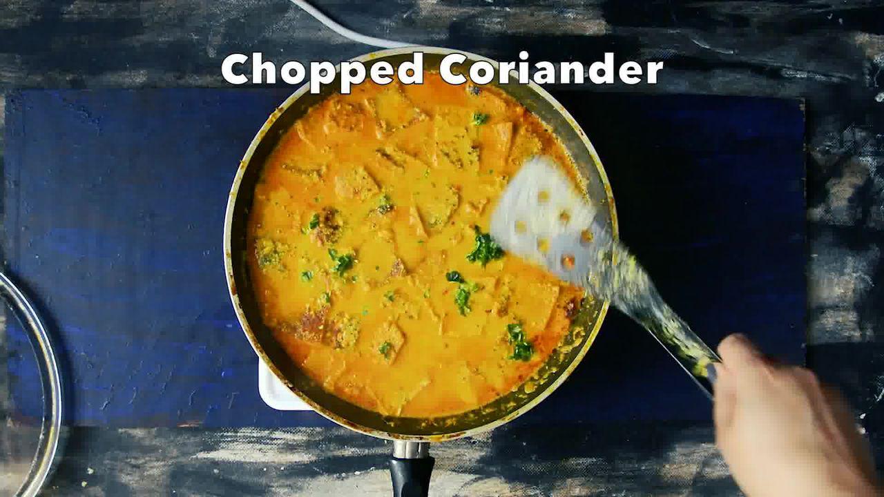 Image of the cooking step-3-11 for Besan Ke Cheele Ki Sabzi - Chickpea Pancake Curry