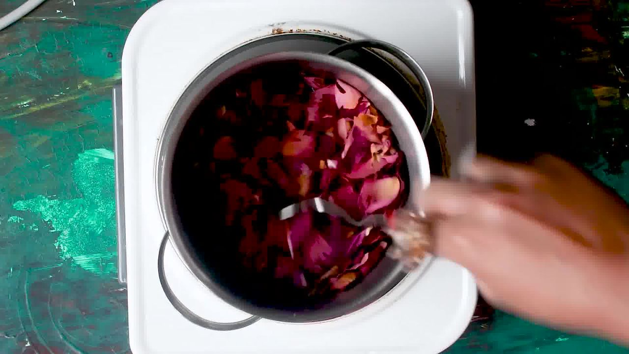Image of the cooking step-1-1 for Rajasthani Gulab Churma Recipe - Rose Choorma Without Oven