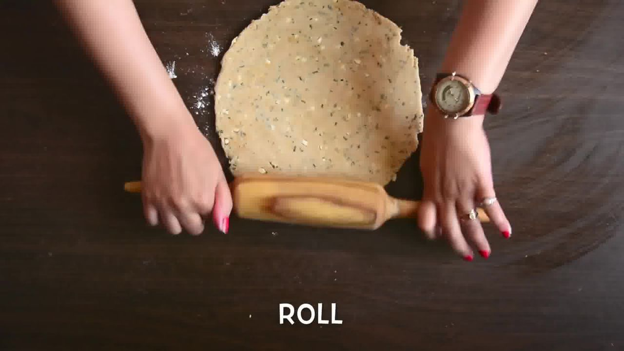 Image of the cooking step-1-4 for Rajasthani Khoba Roti Recipe