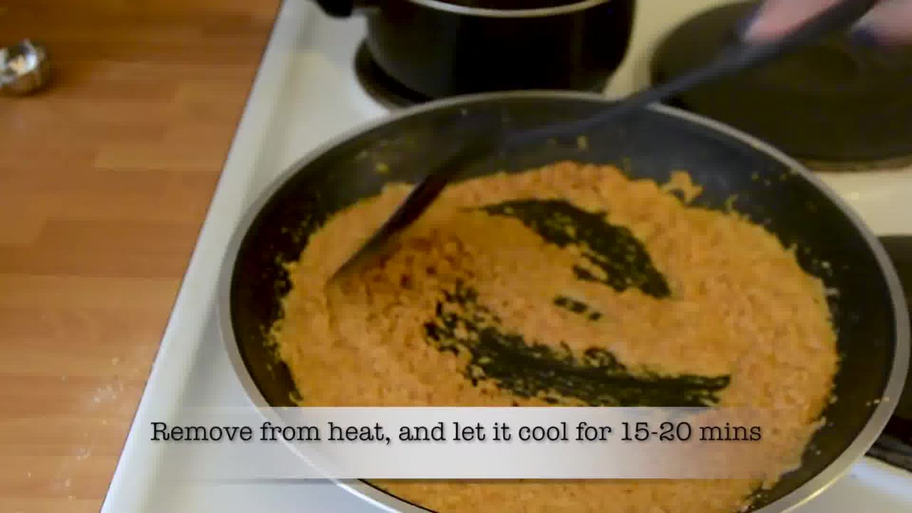 Image of the cooking step-1-14 for Mohanthal Recipe - Mohan Thal (2 Ways)