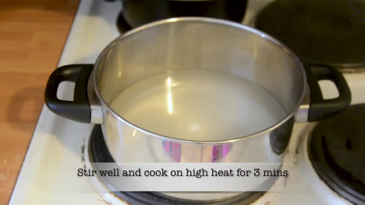 Image of the cooking step-2-1 for Mohanthal Recipe - Mohan Thal (2 Ways)