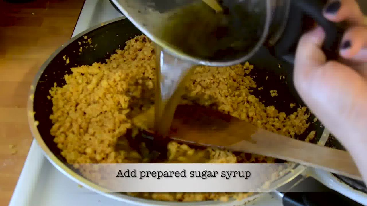 Image of the cooking step-2-19 for Mohanthal Recipe - Mohan Thal (2 Ways)