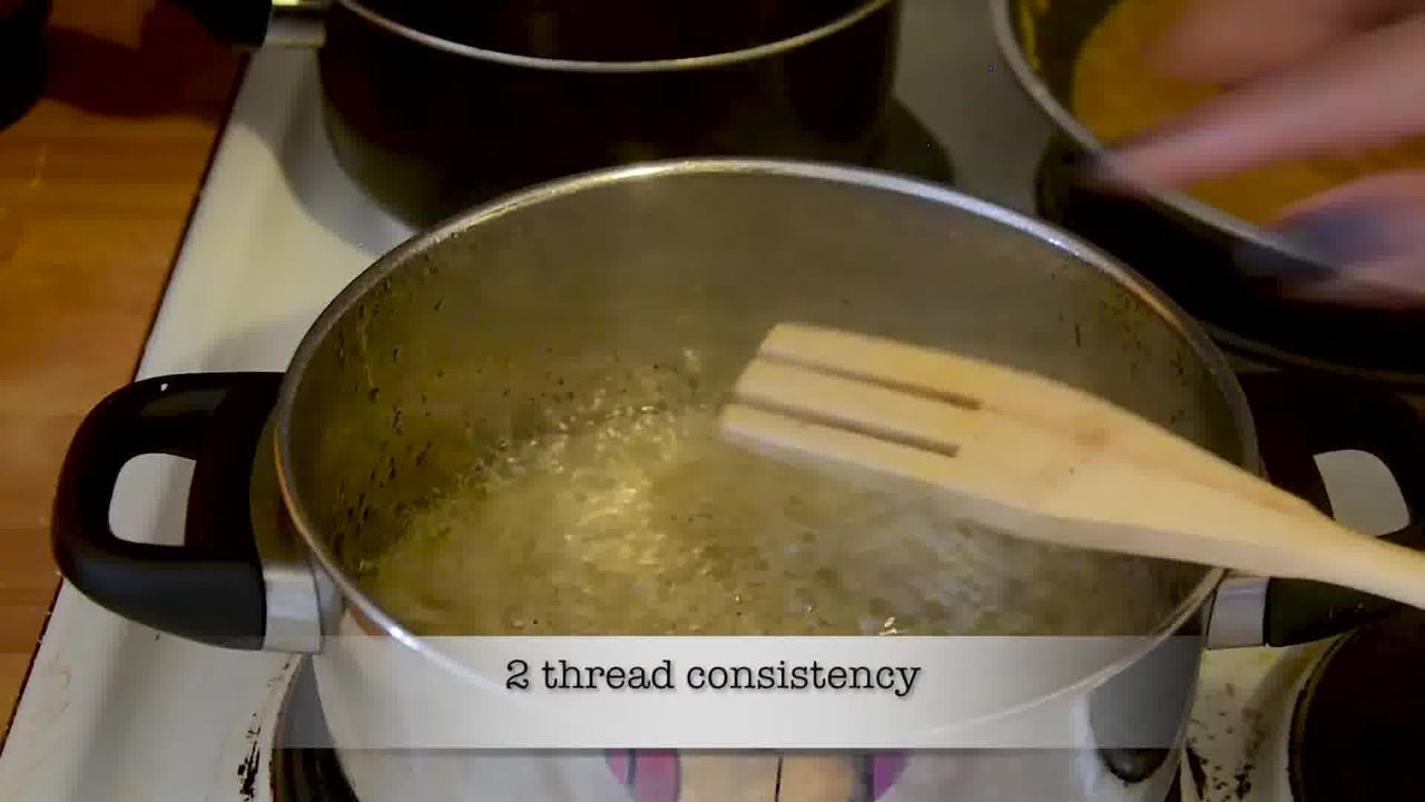 Image of the cooking step-2-5 for Mohanthal Recipe - Mohan Thal (2 Ways)