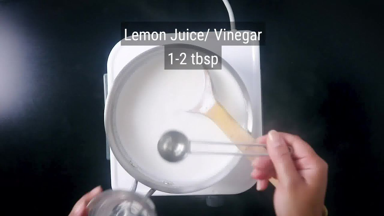 Image of the cooking step-1-2 for Rajbhog Recipe - Kesar Rasgulla