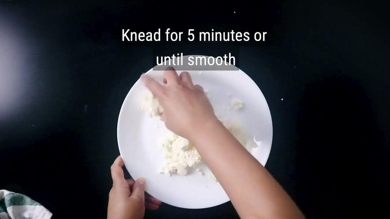 Image of the cooking step-3-1 for Rajbhog Recipe - Kesar Rasgulla