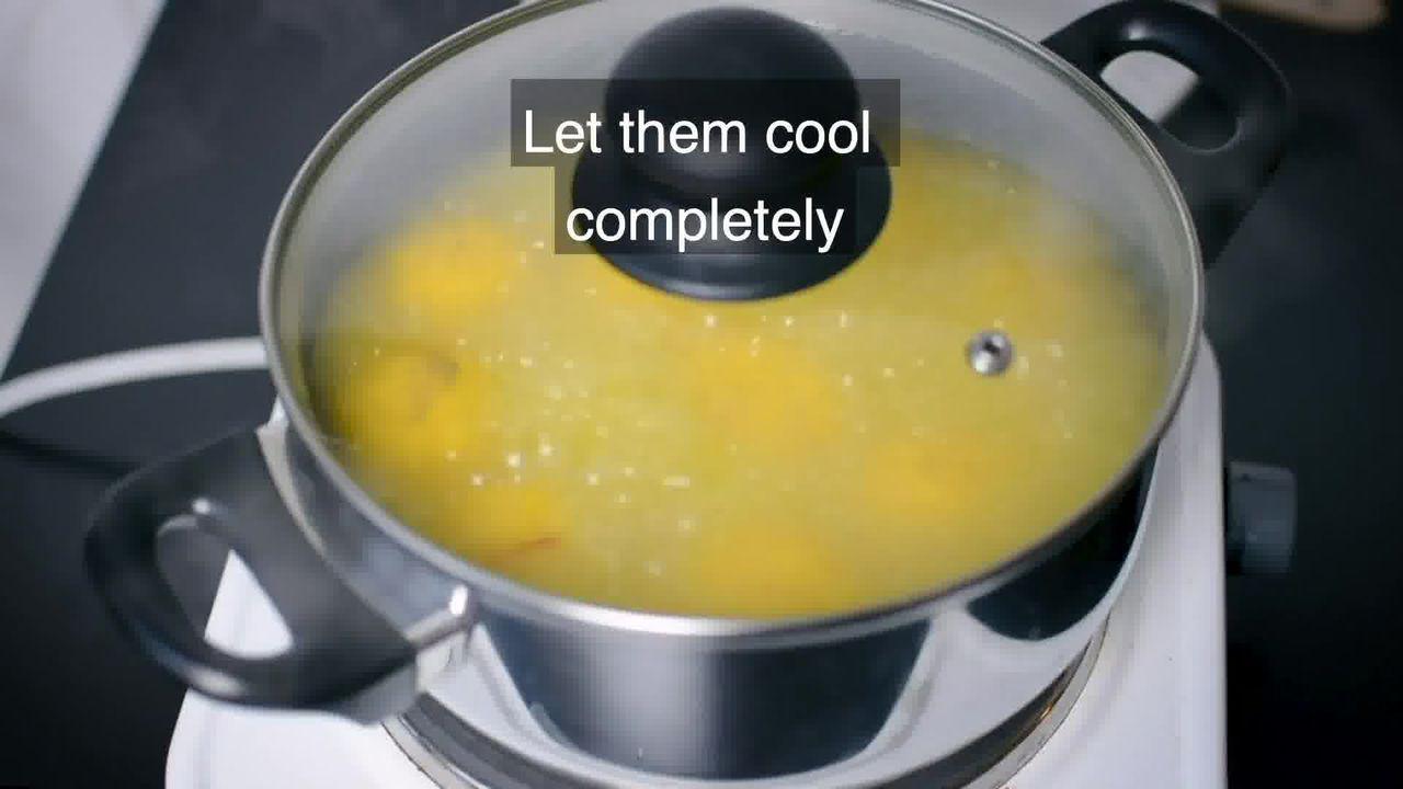 Image of the cooking step-6-3 for Rajbhog Recipe - Kesar Rasgulla