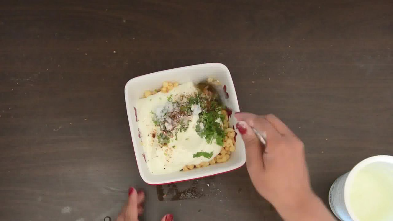 Image of the cooking step-1-4 for Rajma Tofu Paratha Pocket Bites With Boondi Raita