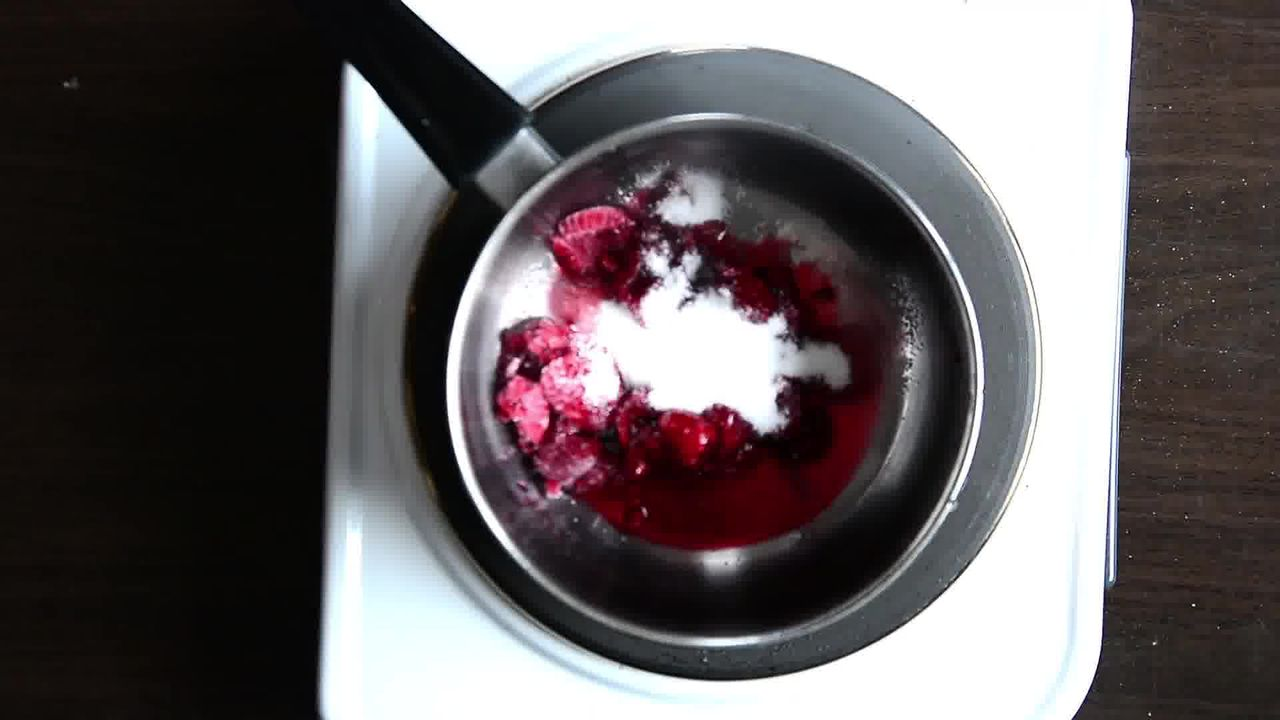 Image of the cooking step-1-2 for Raspberry Crème Fraîche Puff Pastry