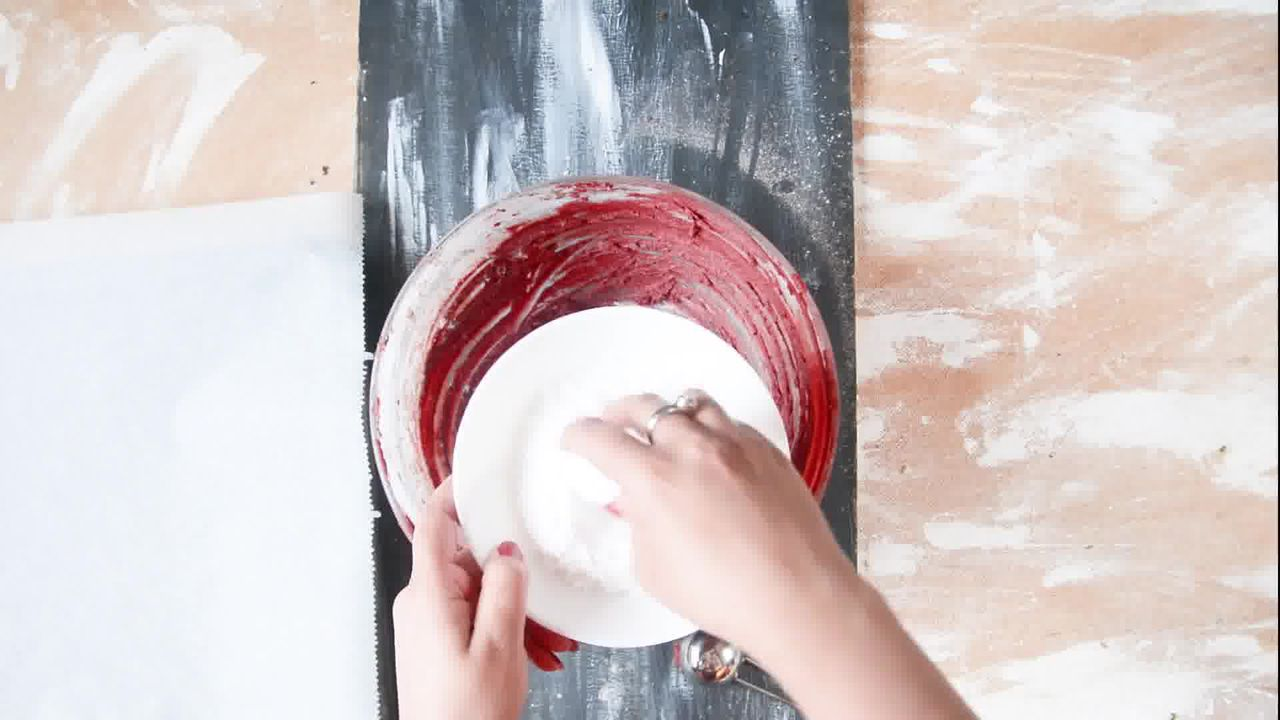 Image of the cooking step-1-7 for Red Velvet Crinkle Cookies