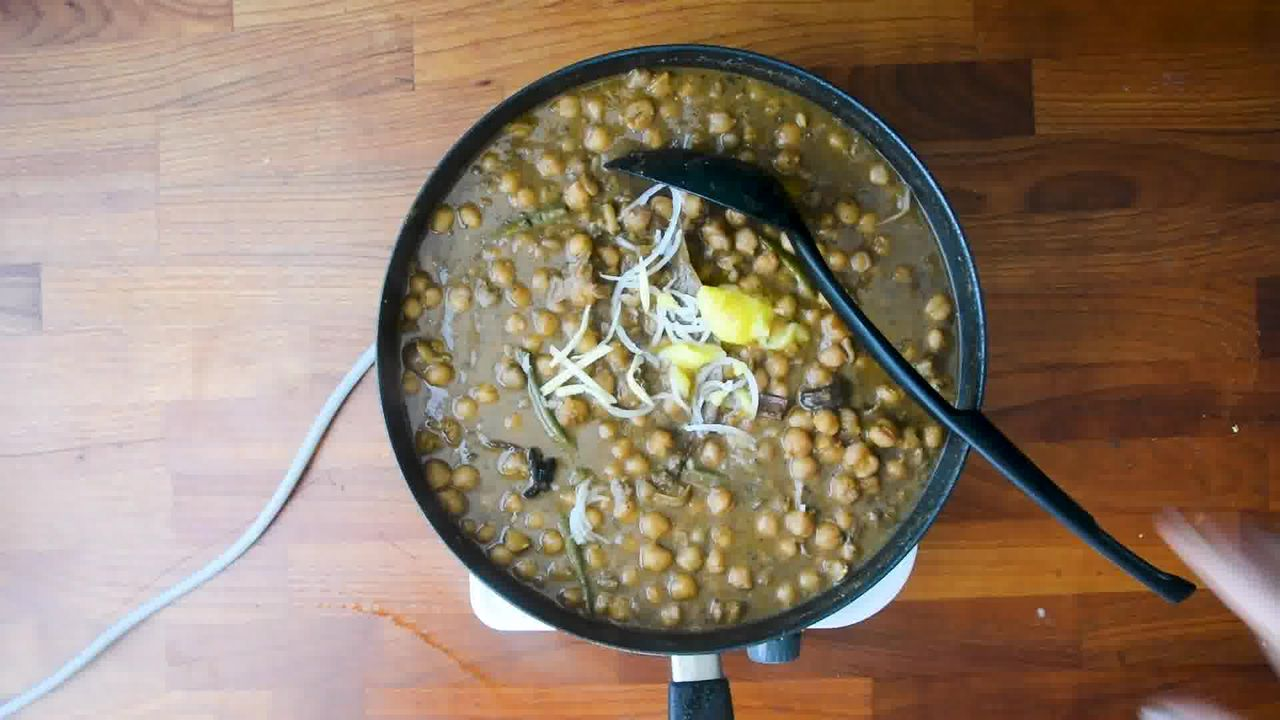 Image of the cooking step-3-4 for Restaurant Style Chana Masala - How to Make Chole Masala