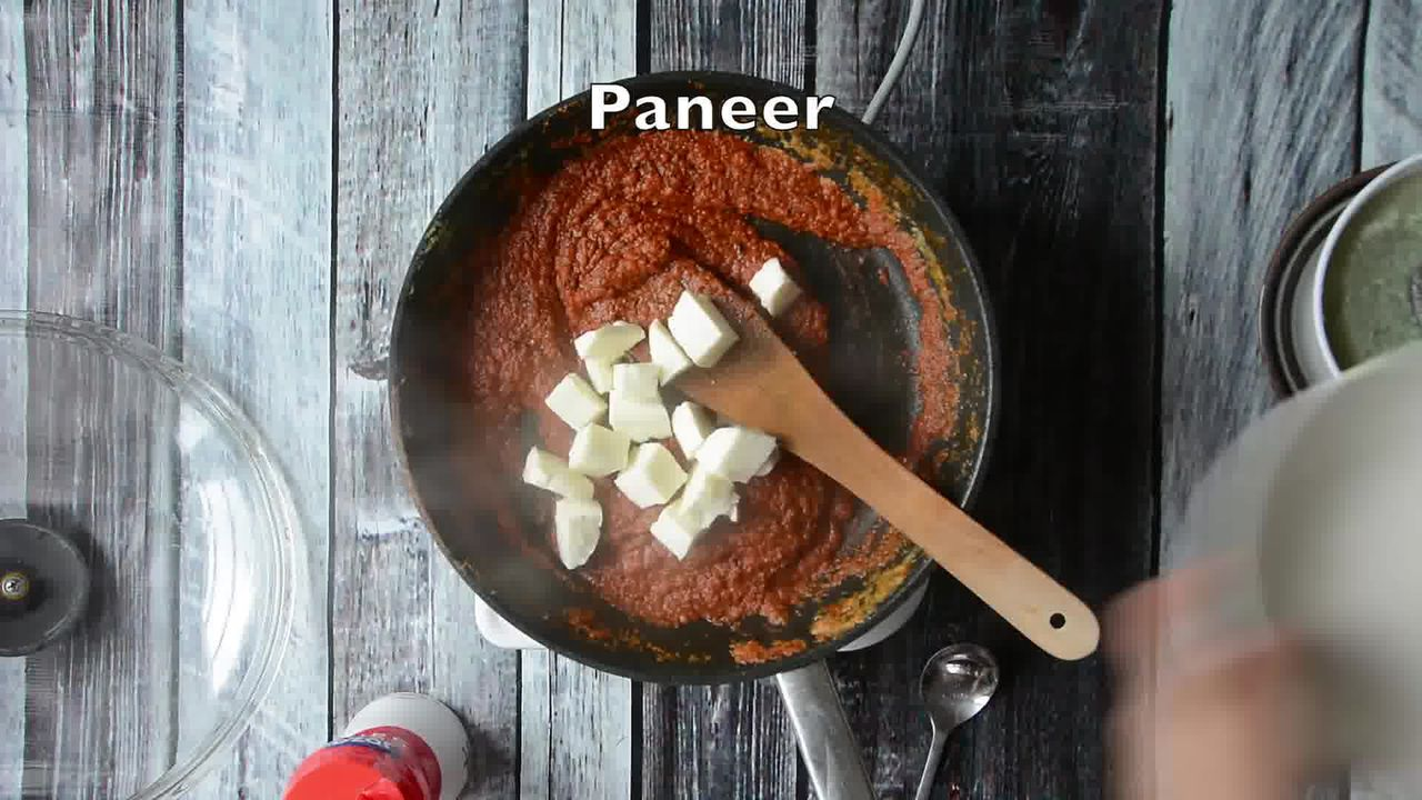 Image of the cooking step-1-10 for Paneer Butter Masala - Paneer Makhani