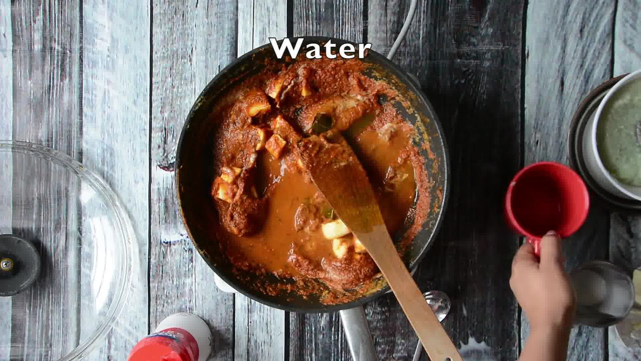 Image of the cooking step-1-12 for Paneer Butter Masala - Paneer Makhani