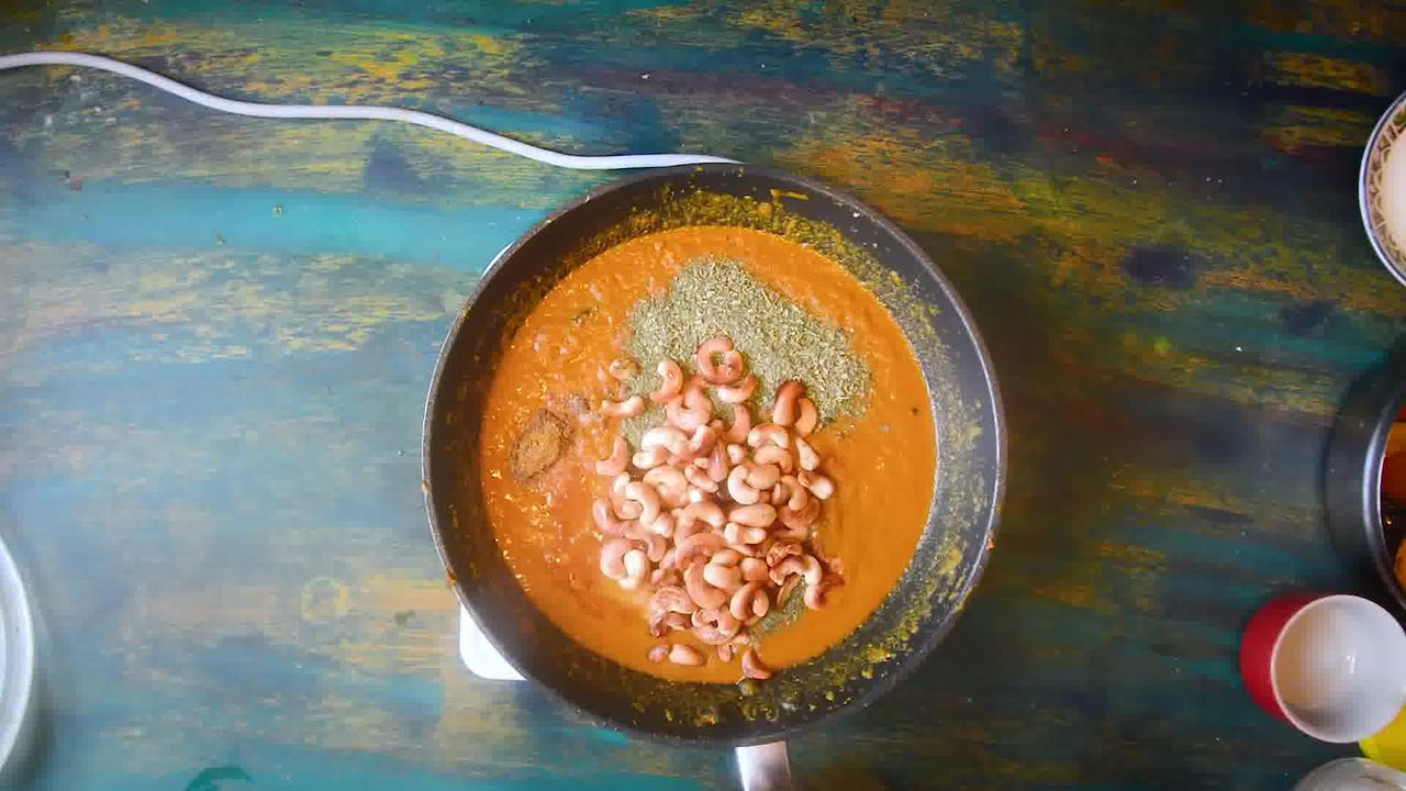 Image of the cooking step-2-9 for Restaurant Style Kaju Curry - Cashew Curry - Kaju Masala