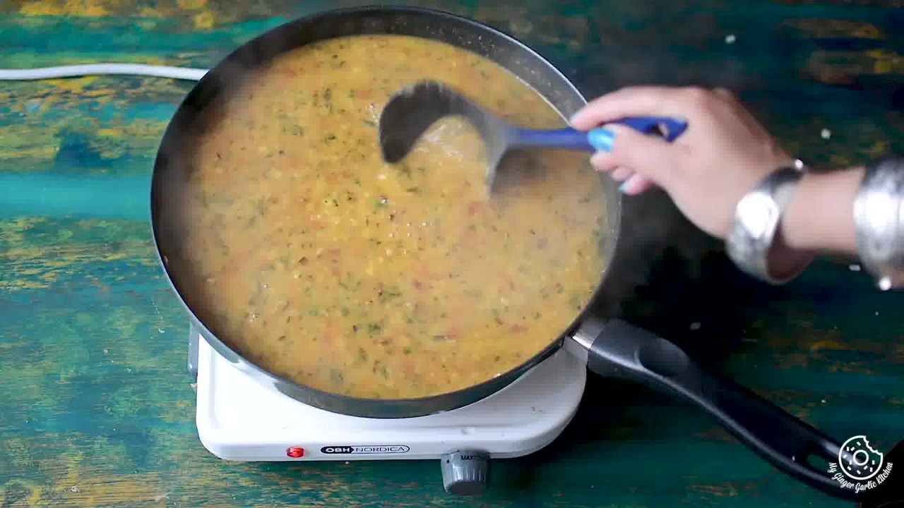 Image of the cooking step-2-9 for Restaurant Style Dal Tadka Recipe