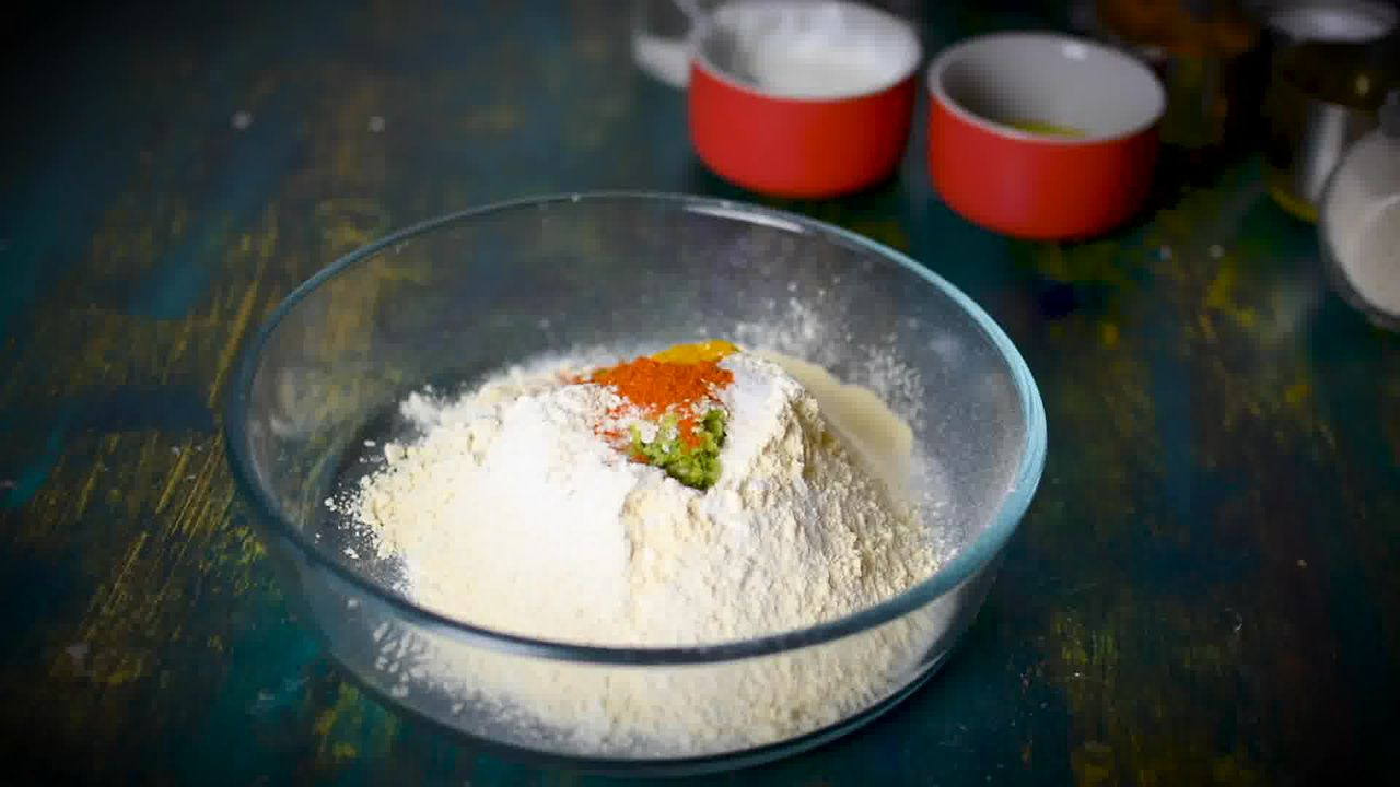 Image of the cooking step-1-1 for Chakli Recipe – Instant Rice Chakli (Fried + Baked)