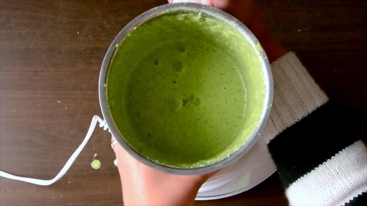 Image of the cooking step-2-2 for Roast Beetroot Falafel Recipe + Green Tahini Dip