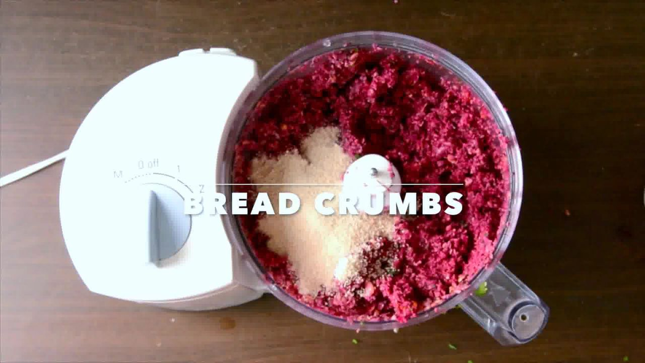 Image of the cooking step-3-3 for Roast Beetroot Falafel Recipe + Green Tahini Dip