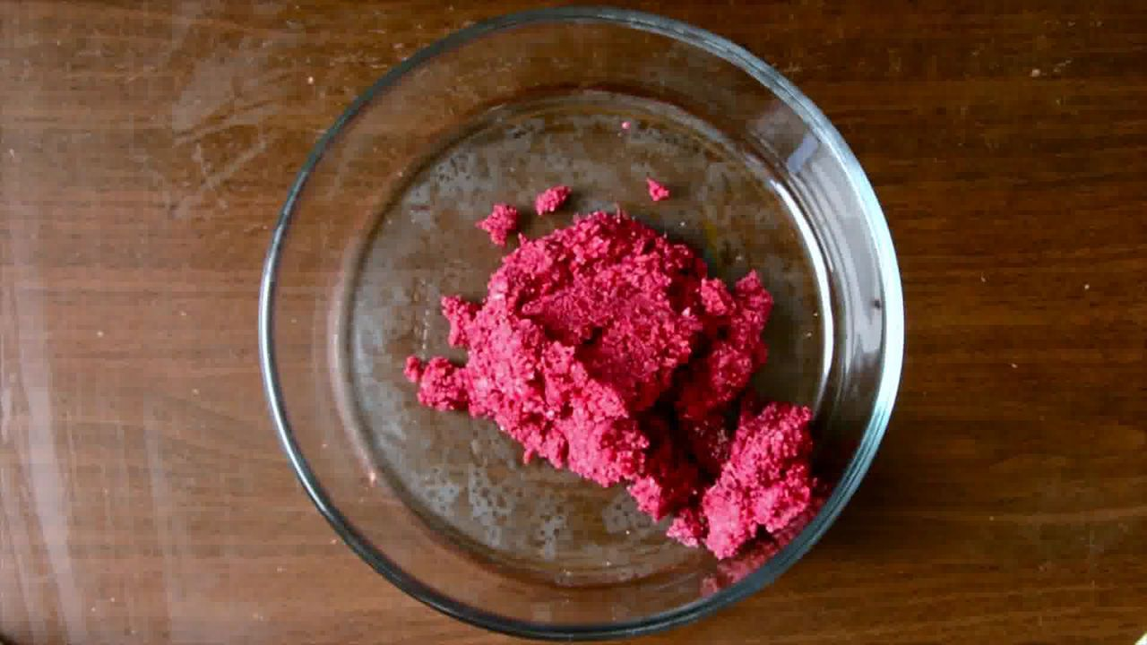Image of the cooking step-3-4 for Roast Beetroot Falafel Recipe + Green Tahini Dip