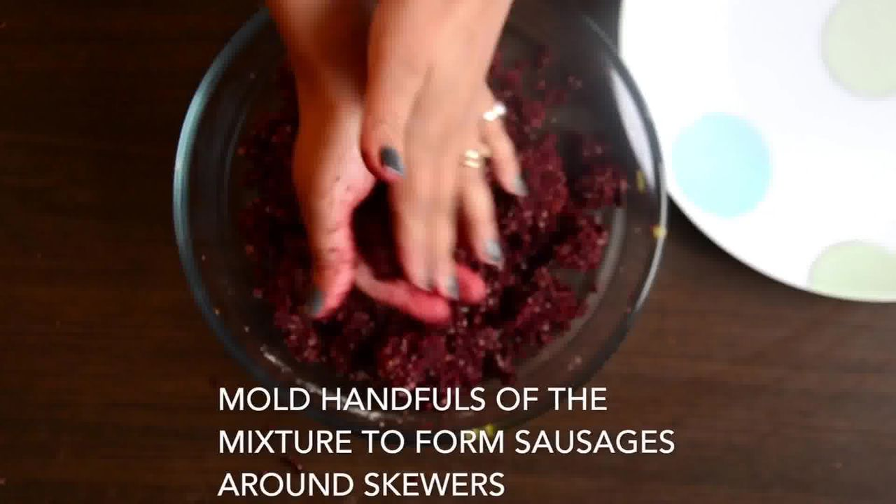 Image of the cooking step-3-14 for Beetroot Kebab Recipe