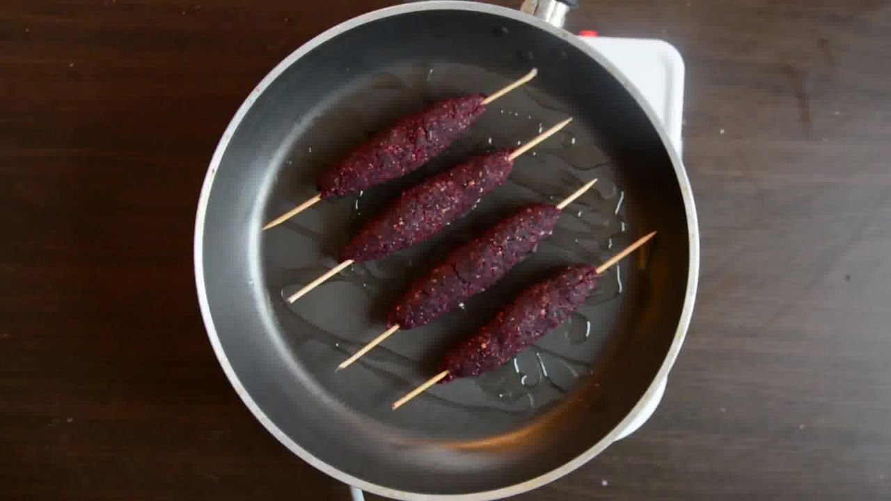 Image of the cooking step-3-18 for Beetroot Kebab Recipe