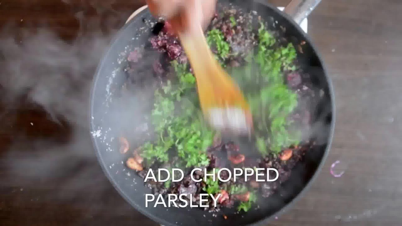 Image of the cooking step-3-9 for Beetroot Kebab Recipe